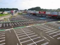 ベイシア安達店様駐車場補修工事
